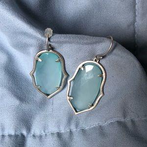 EUC Stella & Dot Amala Chandeliers Silver